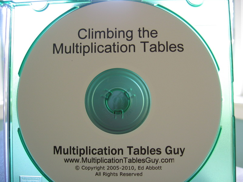 Climbing the Multiplication Tables audio learning CD