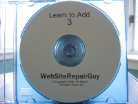 Learn to Add 3 Audio Learning CD