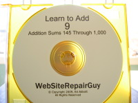 Learn to Add 9 Audio Learning CD