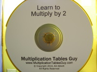 Learn to Multiply by 2 Audio Learning CD