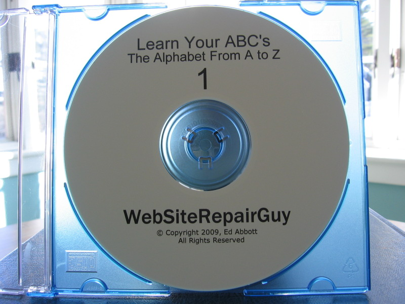 Learn Your ABC's 1 audio learning CD