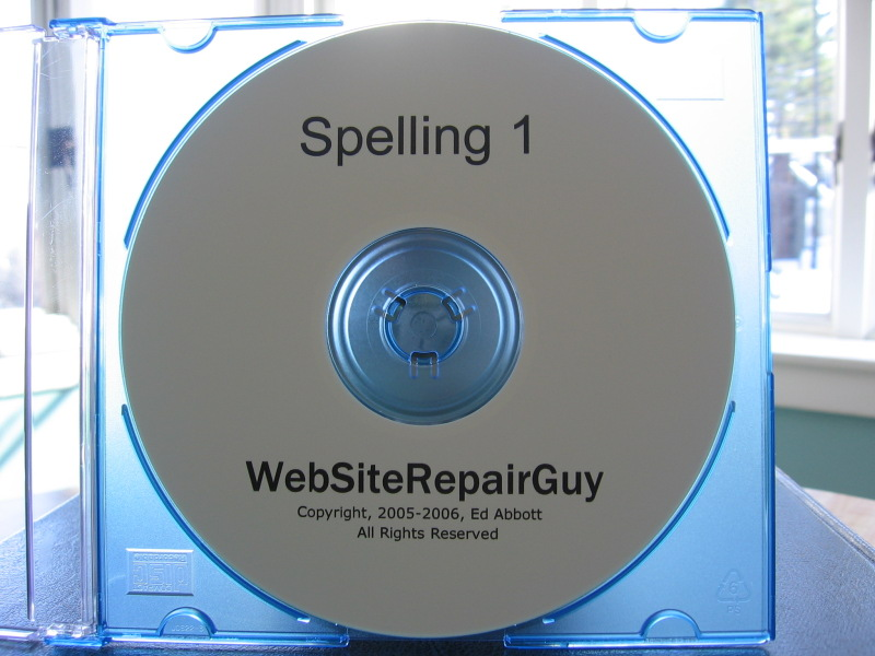Spelling 1 audio learning CD