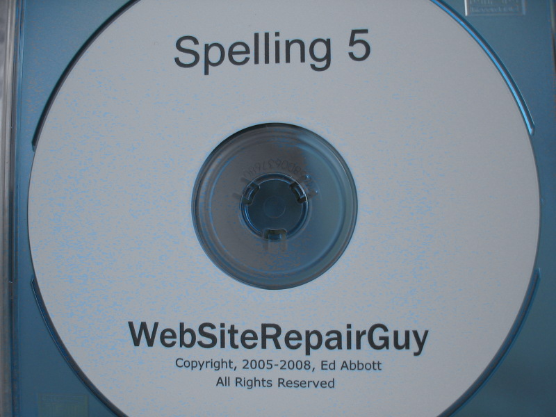 Spelling 5 audio learning CD